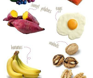 hair, food, and healthy image
