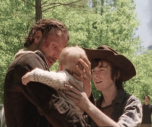 the walking dead, rick grimes, and chandler riggs image