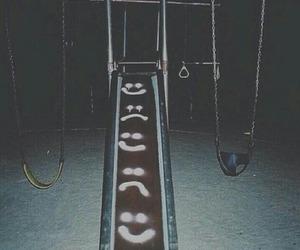 grunge, sad, and happy image