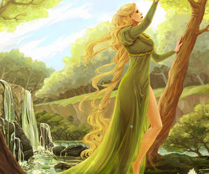 lady, lord of the rings, and LOTR image