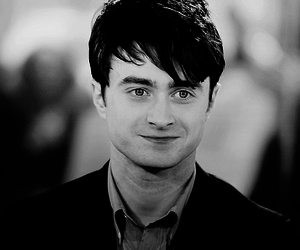 black and white, daniel radcliffe, and gorgeous image