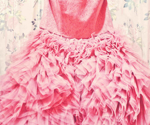 betsey johnson, pink, and prom dress image