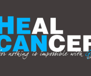 bible, cancer, and healing image