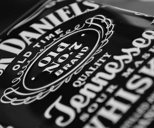 jack daniels, whiskey, and black image