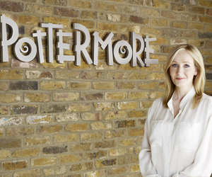pottermore, harry potter, and jk rowling image