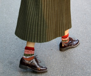 shoes, skirt, and vintage image