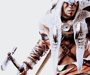native american, assassins creed 3, and connor kenway image