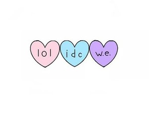 coeur, heart, and lol image