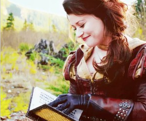 belle, book, and ouat image