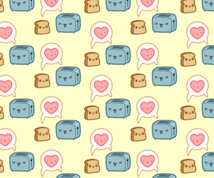 background, food, and heart image