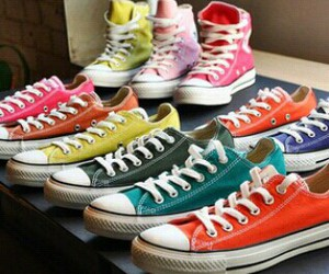 converse, shoes, and color image