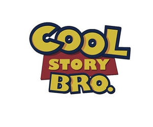 overlay, toy story, and cool story bro image