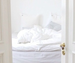 white, bedroom, and cozy image