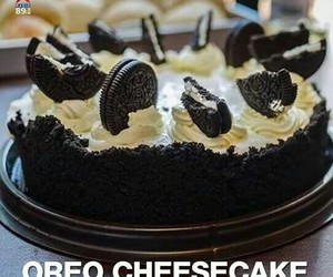 oreo, cake, and cheesecake image