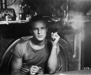 b & w, cigarette, and gay image