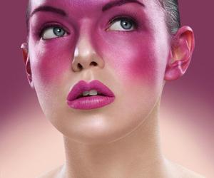 beauty, lips, and women image