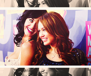 katy perry and miley cyrus image