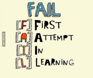 fail, quote, and attempt image