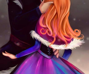 frozen, anna, and love image