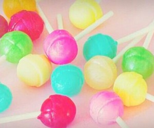 candy, rainbow, and colorful image