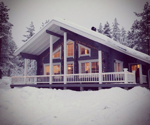 holidays, home, and snow image