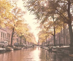 amsterdam, bikes, and canal image