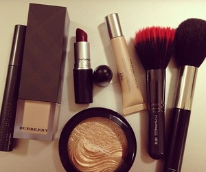 mac, Maybelline, and revlon image