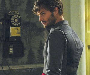 Jamie Dornan, once upon a time, and W image