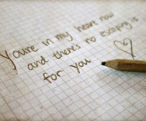 heart, Lyrics, and note image