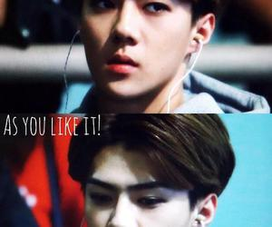 airport, sehun, and exo image