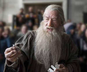 gandalf, hobbit, and ian mckellen image