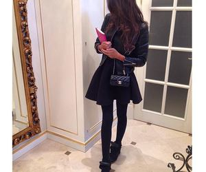 black, style, and chanel image