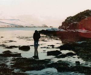 boy, indie, and sea image