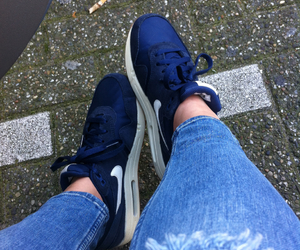 air max 1, awesome, and blue image