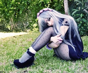 gothic, girl, and goth image