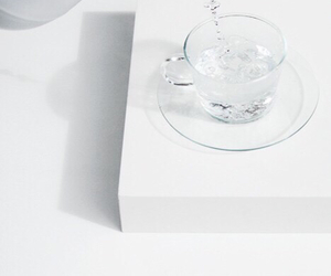 white and water image