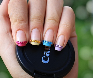 canon, colourful, and nail art image