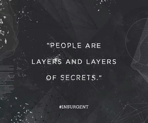 insurgent, secrets, and people image