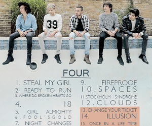 four, liam payne, and niall horan image