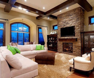 house, living room, and luxury image