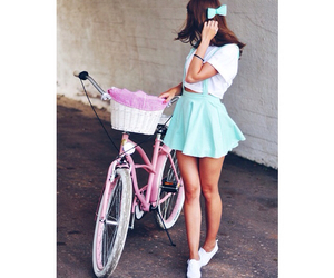 bike, hipster, and fashion image