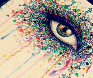 eye, color, and draw image