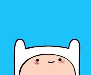 wallpaper, finn, and adventure time image