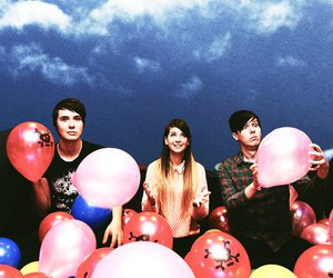 balloons, youtubers, and zoella image