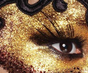 glitter, sparkle in so cal contest, and make up image
