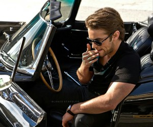 actor, car, and Chace Crawford image