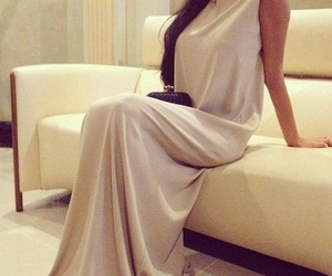 classy, dress, and model image