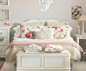 bedroom, cottage, and decor image
