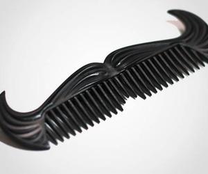 comb, moustache, and mustache image