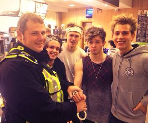 the vamps, james, and tristan evans image